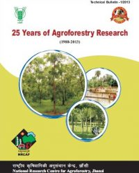 25 Years of Agroforestry Research (1988-2013)