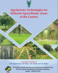 Agroforestry Technologies for Different Agro-climatic Zones of the Country